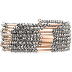 Stella & Dot Sparkly Bardot Bracelet in Rose Gold